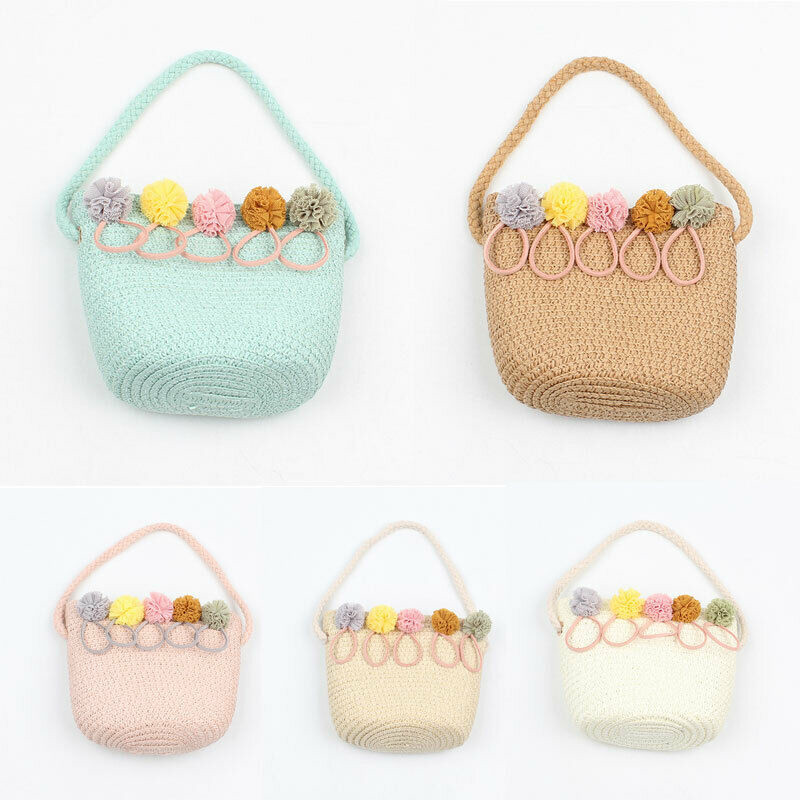 2019 New Cute Multifunctional Baby Diaper Organizer Rattan Wicker Handbag Fashion Floral Bag Mummy Storage Bag Travel Nappy Bag
