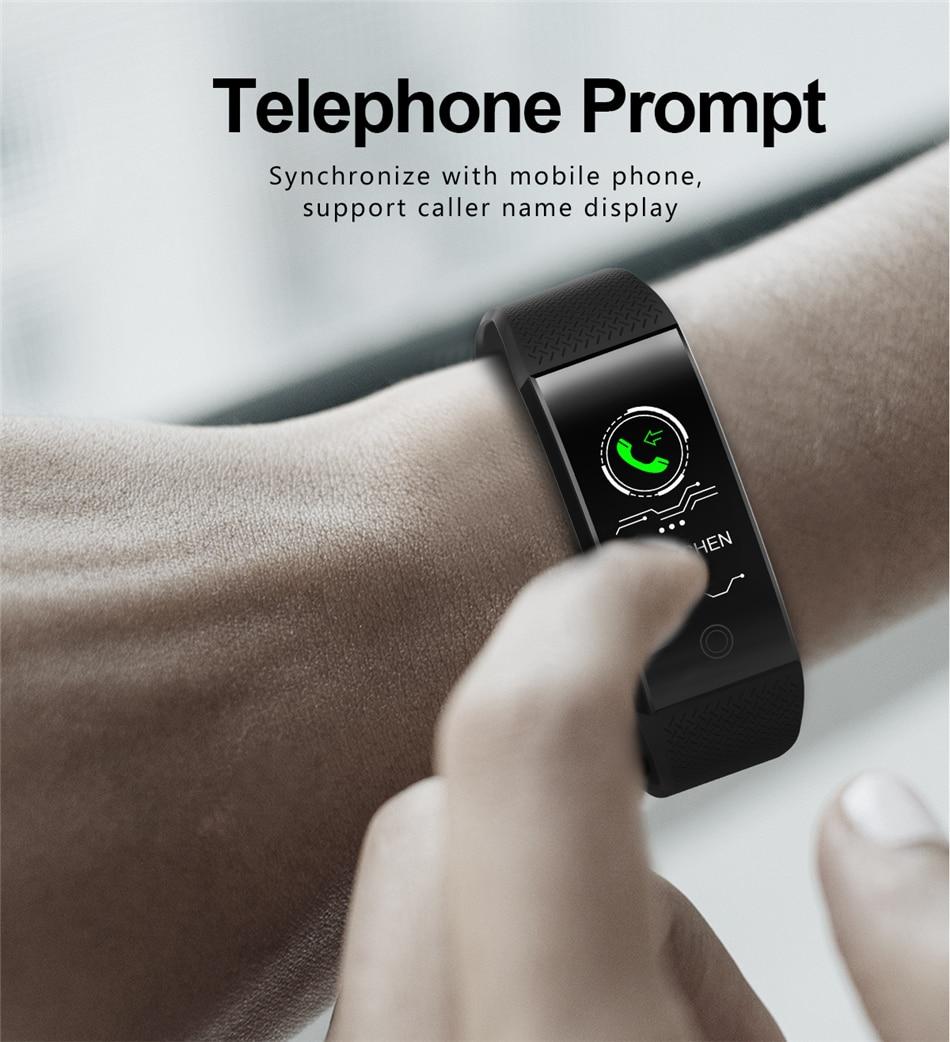 BANGWEI 2018 New Men Smar watch Blood pressure heart rate monitor basketball Fitness Tracker Smart Sport Watch Reloj inteligente 14