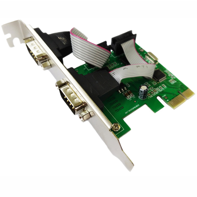 PCIE Serial Card PCI E to Multiple Serial Port Expansion Card RS232 Interface Industrial Control Data 9 Pin COM Card