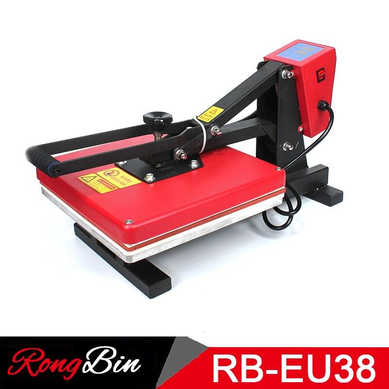 38x38CM High Pressure Heat Press Machine T shirts Sublimation Printing Machine for Phone Case Puzzle Mouse Pad Glass Rock Photo 1 pcs 38x38cm small heat press machine hp230a