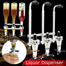 Wall Mounted Liquor Wine Dispenser Machine Bar Butler Drinking Pourer Home Bar Tools For Beer Soda Coke Fizzy Soda 3-station(China)
