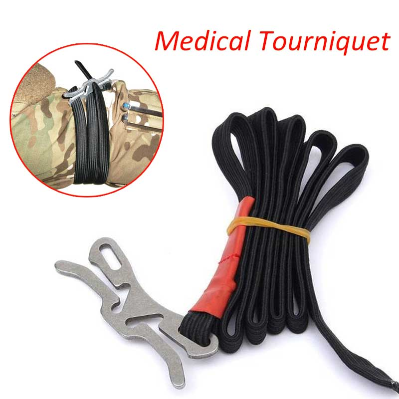 First Aid Tourniquet Outdoor Survival Medical Application Outdoor Survive Bleed Camp Hike Medical Lifesave Emergent Kit Military