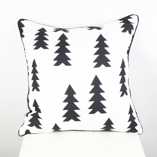 "18 ""* 18"" almofadas decorativas décoratif Throw Pillow Cover arbre de Noël Taie d'oreiller taie d'oreiller"