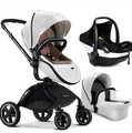 High light luxury stroller landscape suspension folding children baby cart can sit lie bb car winter and summer