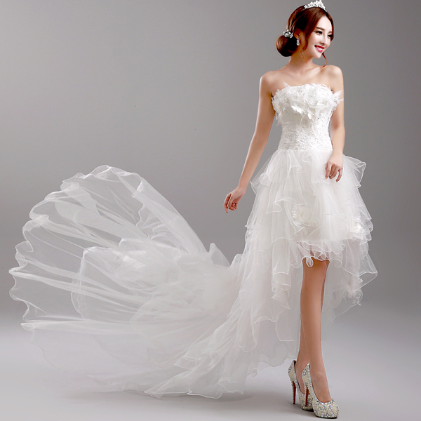 New Arrival Princess Grace Wedding Dresses Of 2015 The Flowers Pleat ...
