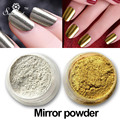 Mirror Powder Gold Silver Pigment Nail Glitter Nail Art Chrome Effect Magic Mirror Powder For Nail Gel Polish Decoration Tool