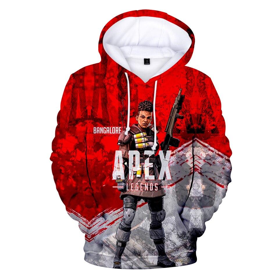 Apex Legends 3D Hoodies Men Streetwear 2019 New Sweatshirt 3D Hoodies Men s Women Autumn Long