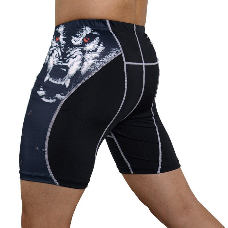 2019 Shorts Men Leggings Compression Shorts Tights Sportswear Gyms Workout Mens Shorts Short Homme Korte Broek Mannen