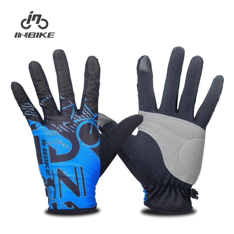 Prix pour Inbike hommes de vélo complet doigt gants vélo vélo vtt gants écran tactile mitaines if439