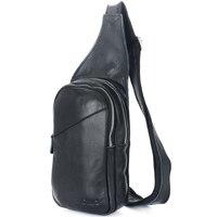 TIDING Hot bán men genuine da bò da backpack trai em du lịch túi sling 3048