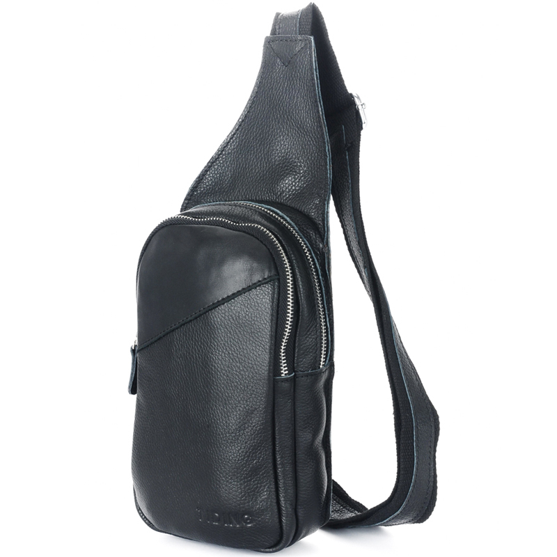 Popular Leather Sling Backpack for Men-Buy Cheap Leather Sling ...