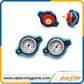 RASTP - D1 Spec RACING Thermost Radiator Cap With Water Temp Gauge 1.1 BAR Cover  LS-CAP001