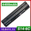4400 mAh bateria do portátil para MSI BTY-S14 BTY-S15 CR650 CX650 FR700 FR400 FR610 FR620 FR600 FR700 GE60 GE70 FX400 FX600 FX603 FX610