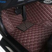 Tane leather car floor mats For toyota prado 120 land cruiser 100 mark x corolla harrier rav4 2018 camry accessories carpet rug