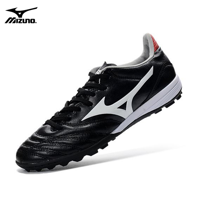 best sneakers a6eea a2604 US $52.13 8% OFF Mizuno Morelia Neo Mix Mizuno Wave Ignitus Basara FG  Soccer 4MD Spikes Men Running shoes Black Weightlifting Shoes Size 40 45  -in ...