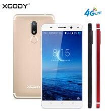 Ограниченное предложение XGODY D22 4 г LTE смартфон 5,5 дюймов 2 г 16 г MTK6737 4 ядра Celulares андроид 7,0 13.0MP отпечатков пальцев двойной SIM мобильный телефон gps