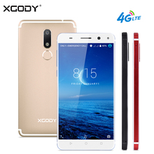 XGODY D22 4G LTE Smartphone 5,5 Zoll Fingerprint Quad Core 2 GB + 16 GB Touch Celular Android 7.0 13.0MP Dual SIM Handy handys