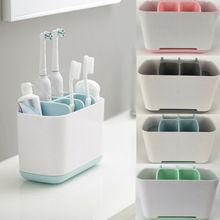 Зубная паста держатель электрический зубная щетка ящик для хранения для ванной комнаты простой съемный