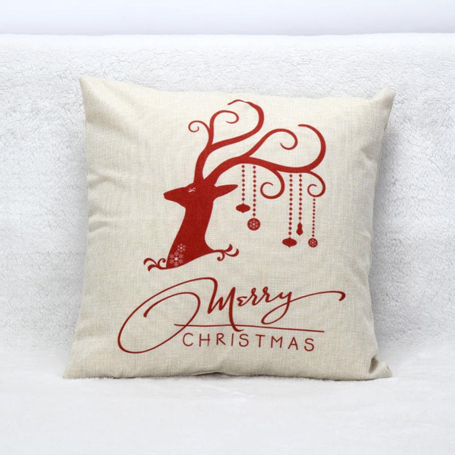 ISHOWTIENDA Christmas Deer Sofa Bed Home Decoration