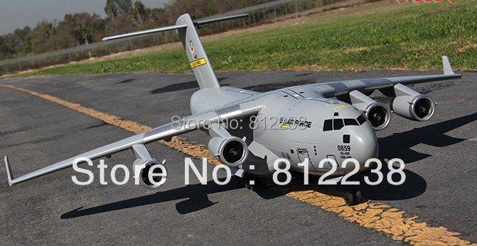 Boeing C17 Globemaster III rc airplane ducted fan RTF rc hobby Cargo