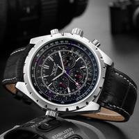 JARAGAR Luxury Brand Men Watch Mens Fashion Self Winding Mechanical Watches Man Multifunction Sport Wristwatch Relogio Masculino