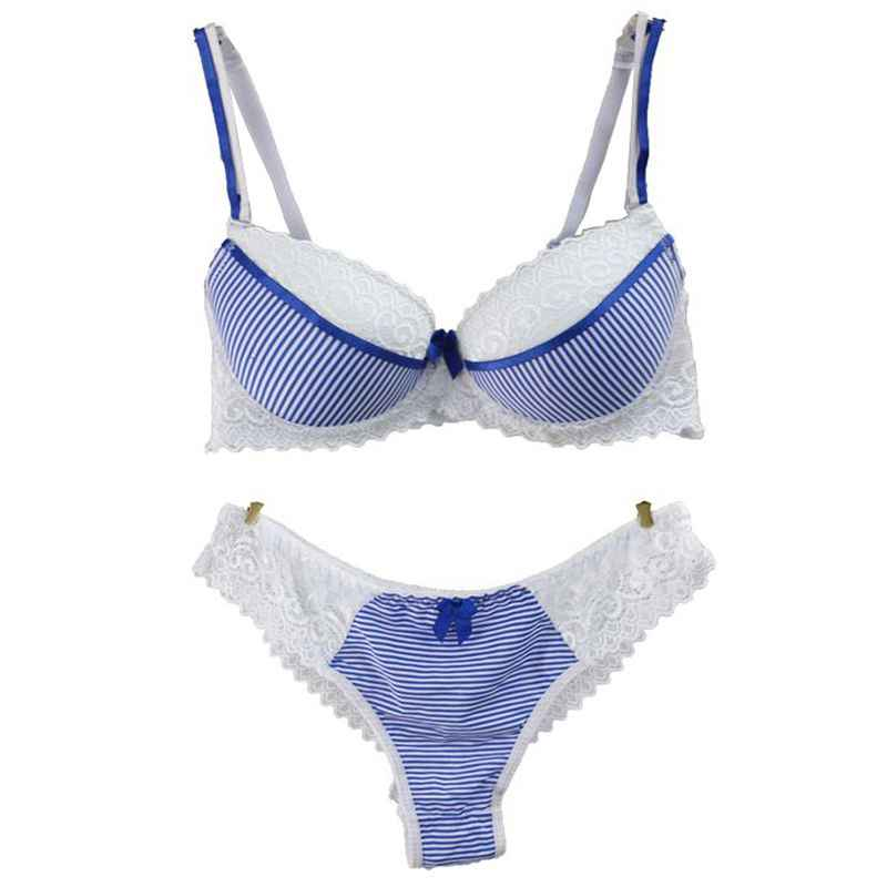 f5d7320e213 Floral Lace Bra Set Women Lingerie Underwear Black Blue Yellow Pink  Seamless Bra Push Up Sexy