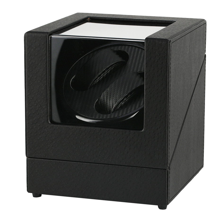 18 18 20 5 cm Automatic Watch Winder 2 0 Holders Motor Case Winding Box with US UK AU EU Plug Luxury Watch Storage Boxes in Watch Winders from Watches