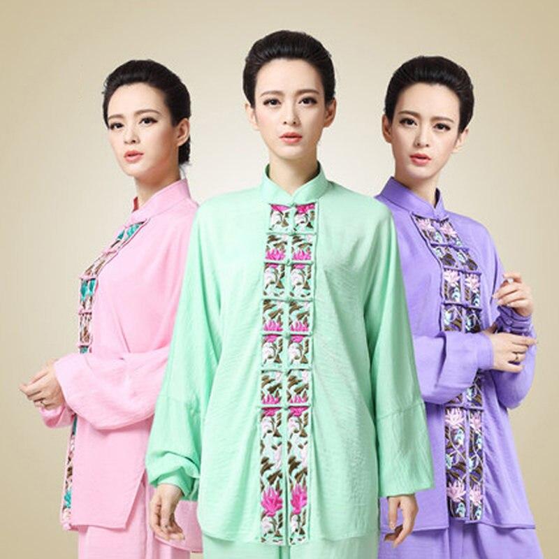 G-LIKE 7 Color Unique Embroidery Design Tai Chi Uniform Martial Arts Sets Wushu Suit Jacket Pants