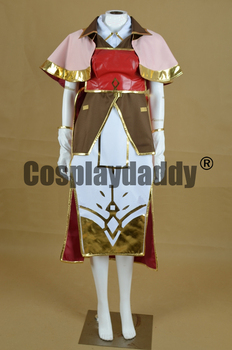 Fire Emblem Echoes: Shadows of Valentia Mage Mae Dress Game Cosplay Costume F006