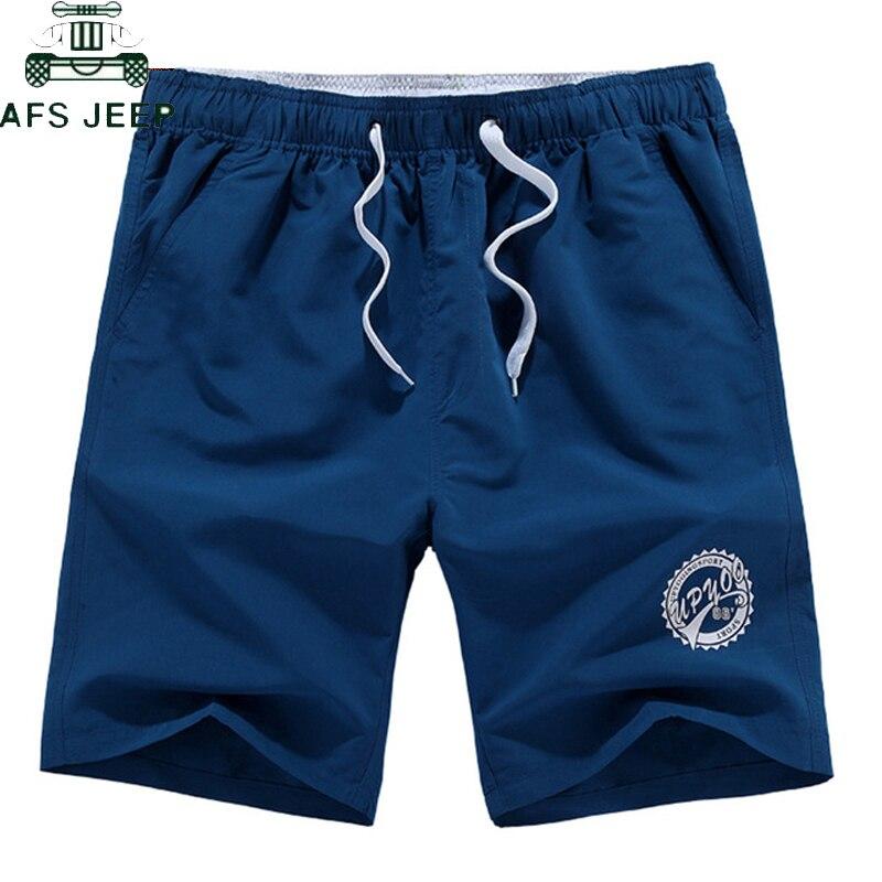 2PCS Casual Men Beach Shorts Quick Drying Short Pants Men Plus Size L-5XL Loose Elastic Fashion Beach Short Bermuda Masculino
