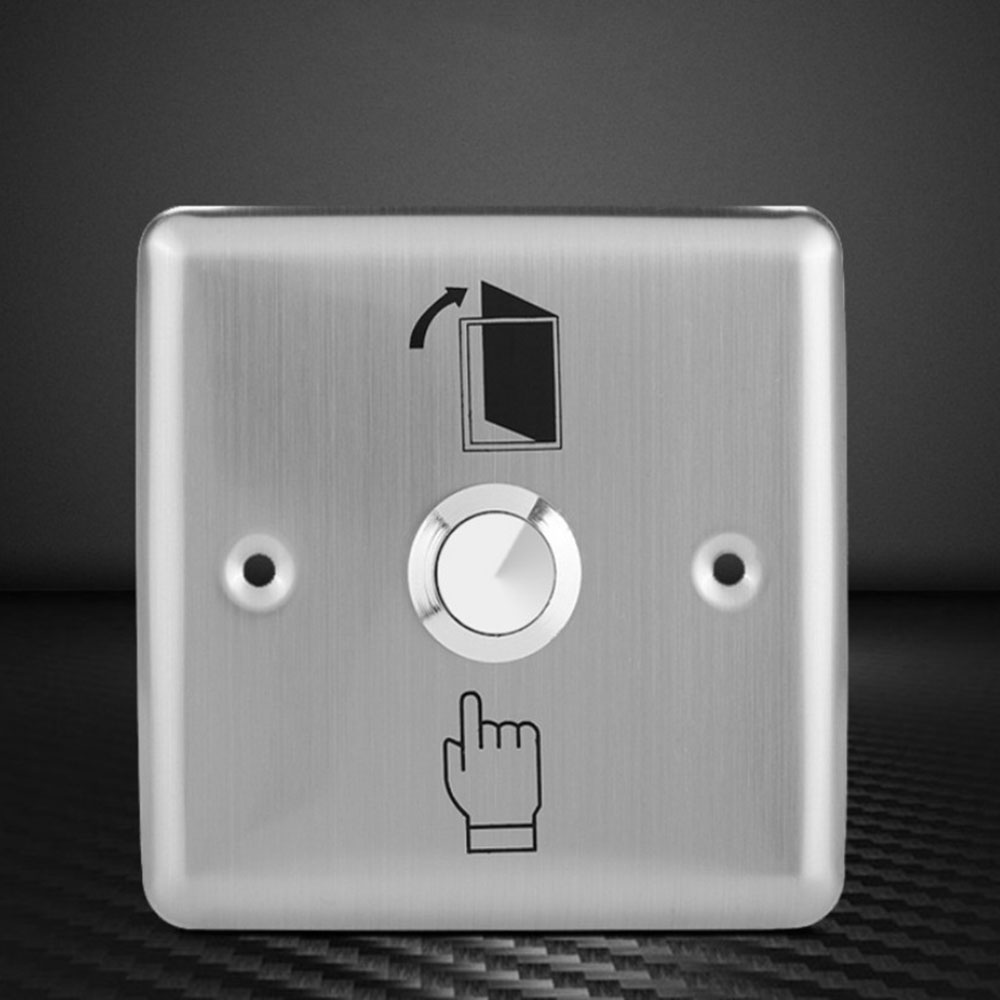 Stainless Steel Exit Button Push Switch Door Sensor Opener