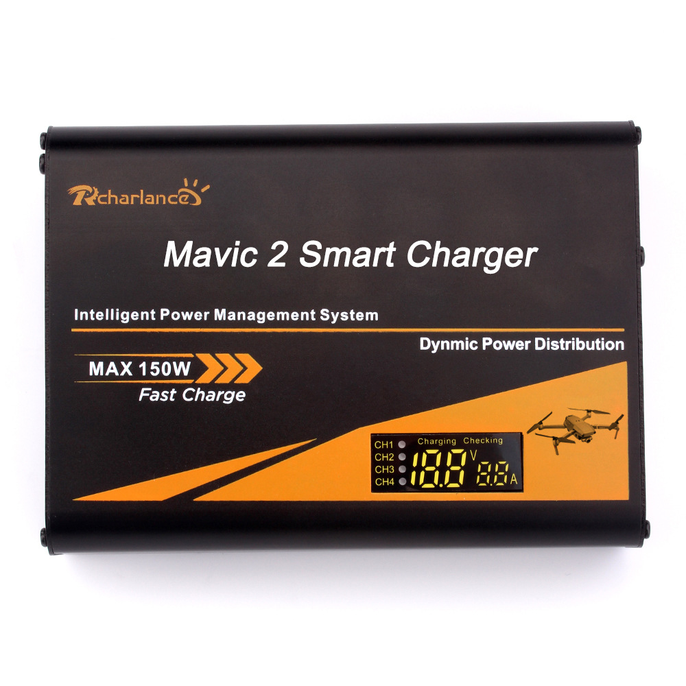 DJI Mavic 2 Pro のバッテリー充電器ズーム充電ハブ Mavic 2 バッテリーリモコン電話 6in1 ドローン batterie アクセサリー  グループ上の 家電製品 からの ドローン バッテリー 充電器 の中 3