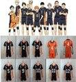 Haikyuu Karasuno High School de Vôlei Clube Hinata Shyouyou Cosplay Traje Sportswear Cosplay Jerseys Uniforme frete grátis