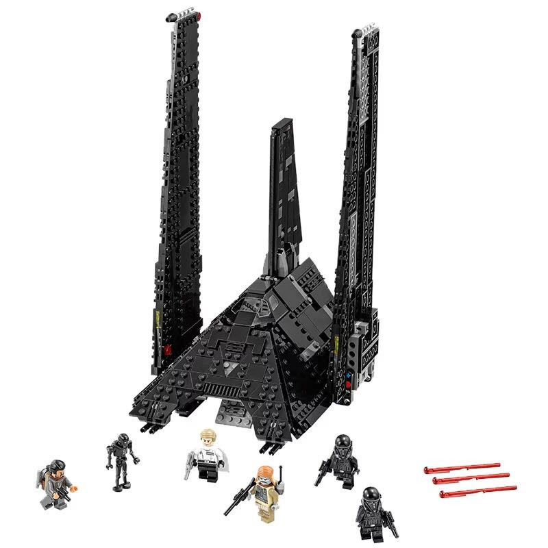 Lepin 05049 863Pcs Imperial shuttle Model Building Blocks Set  Bricks Toys For Children Gift Action figures Educational toys new 863pcs lepin 05049 star war series 75156 the imperial shuttle building blocks bricks toys compatible with lego gift kid set
