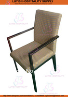 Stacking Hotel Arm Chair 2pcs Ctn Unstackable Wholesale Fast Delivery