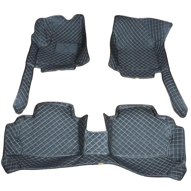 ChiTu custom car floor mats for skoda karoq Superb Fabia Combi rapid spaceback octavia tour accessories 3D car leather carpet