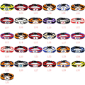 Mix MLB Sport Paracord Bracelet Survival Bracelet Outdoor Camping Baseball Bracelet 10pcs/lot