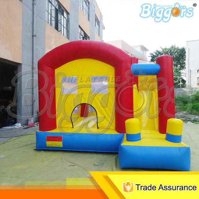 Inflatable biggors tamanho mini bouncer inflável para atividades ao ar livre