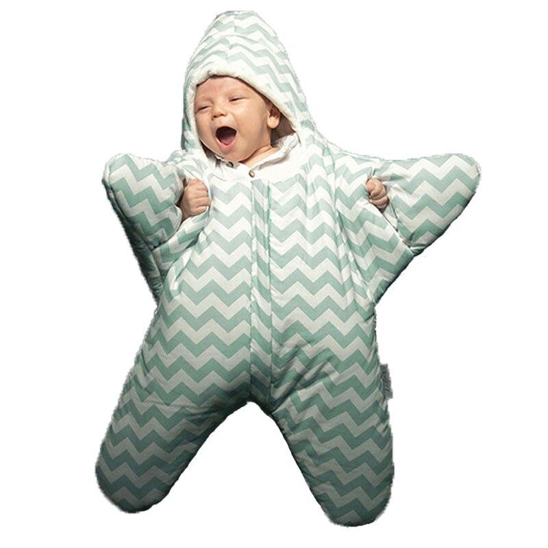 2017-Baby-sleeping-bag-star-shape-winter-warm-stroller-sleeping-bag-for-newborn-striped-cotton-baby-sleeping-bag-retail-CR082-1