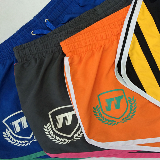 TQQT Striped Boxer Shorts Quick Dry Printing Board Shorts Mens Casual Shorts With Inner Nungwi Men Bermuda Masculina 6P0602