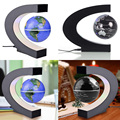 Hot Sale High Quality Exiquisite Antigravity Floating Magnetic Globe with LED Light Gift Decoration