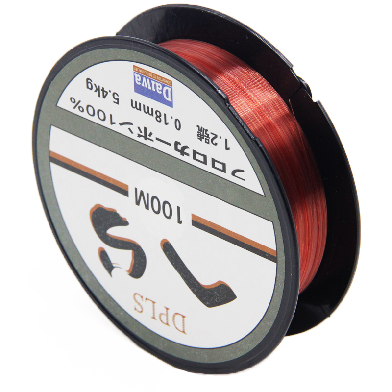 100m daiwa fishing line strong fluorocarbon fishing lines for Fluorocarbon fishing line