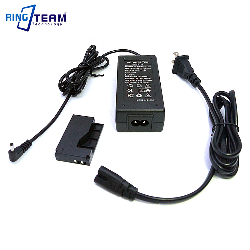 Camera AC Adapter ACK-E15 ACKE15 (LP-E12) Power For Canon EOS Rebel SL1 100D Digital Cameras