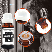 New Lanthome Hair and Beard growth oil Men beard grooming products 100%natural accelerate facial hair grow beard conditioner oil