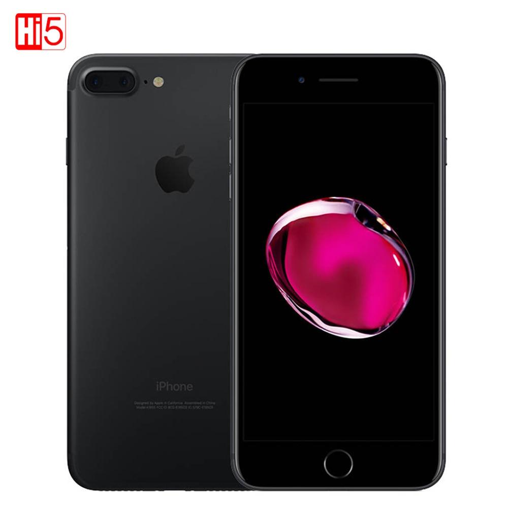 Разблокированный Apple iPhone 7 Plus 5,5 дюймов 32 г/128 ГБ WI-FI 12MP IOS 11 LTE 4G 12.0MP Камера смартфон отпечатков пальцев мобильный телефон