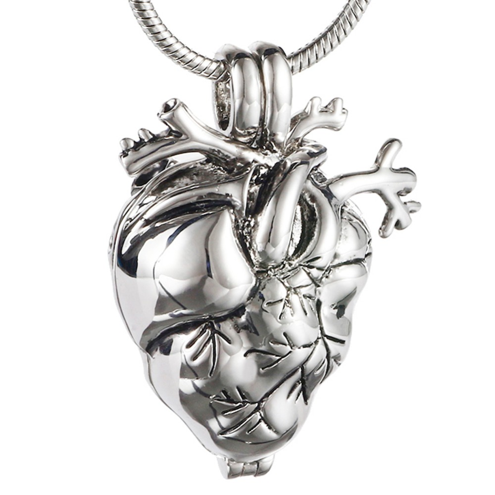 Bulk Cremation Jewelry New Style Memorial Heart Cremation Jewelry For Ashes