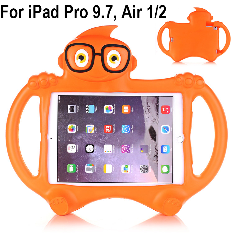 EVA Foam Shockproof washable Case Cover for iPad Air 1/2 Kids Children Lovely Cartoon Tablets Protective skin for iPad Pro 9.7 shockproof kids children save protective