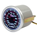 "2"" 52mm 0 ~ 30in.Hg / 0 To 35PSI Super White Light Led Car Universal Turbo Boost Gauge"