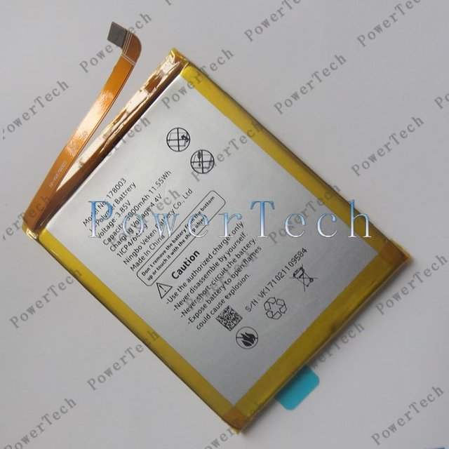 100% Original M5 Battery Replacement 5.2inch VERNEE M5 Mobile Phone Battery