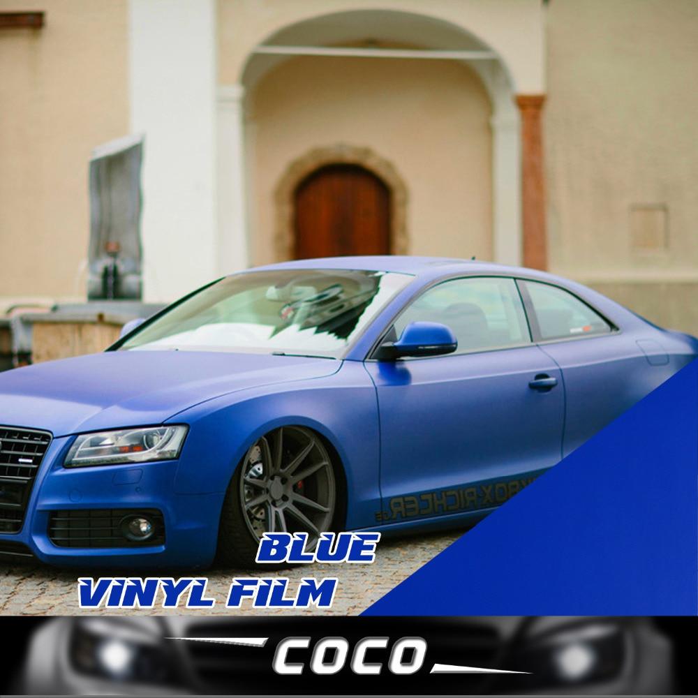 Blue car sticker design - Car Styling Roof Hood Protector 24 X60 60x150cm Diy Wrap Sticker Film Decal Vinyl